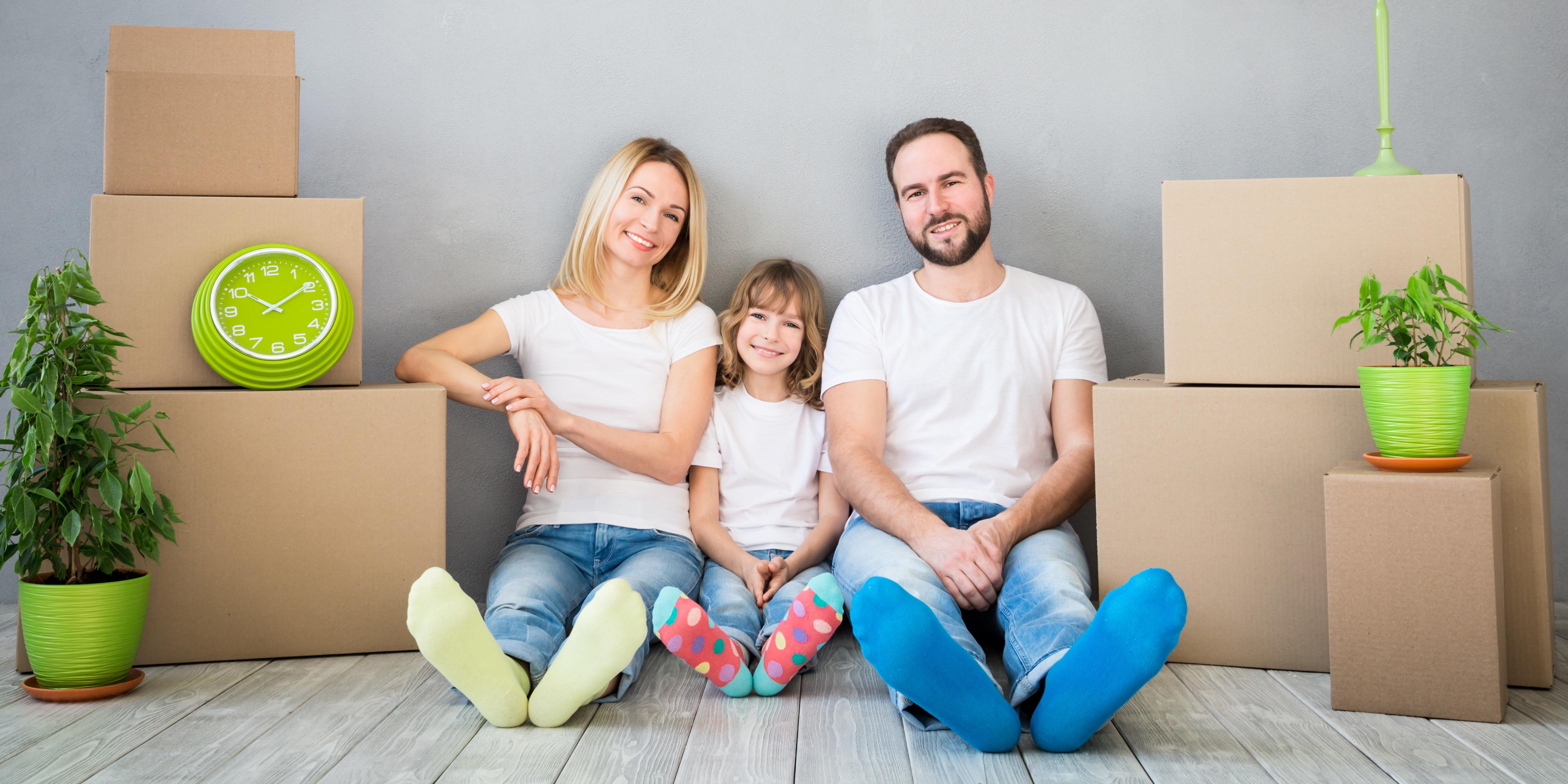 hypotheek met gezin