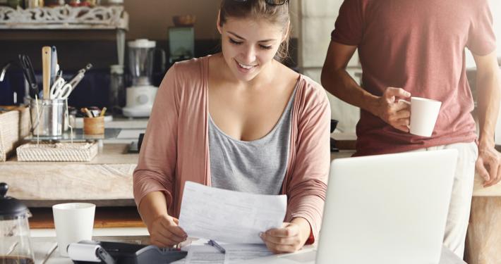 Besparing op rente en risico-opslag